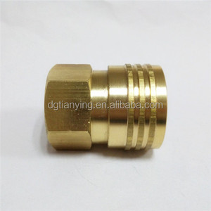 Brass Industrial Quick Coupler/Plug Kit