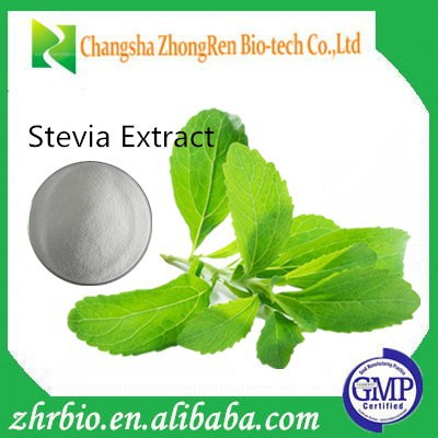 High Quality Stevia Leaf Extract 40-90% Reb.A