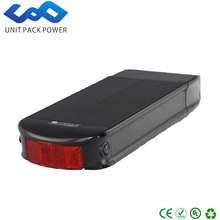 Hot rear rack battery 36 volt 8amp bosch ebike battery 36v lithium ion battery pack for ebike