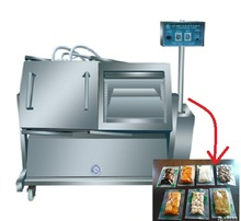 Tilt Type Vacuum Packing Machine For Meat And Poultry