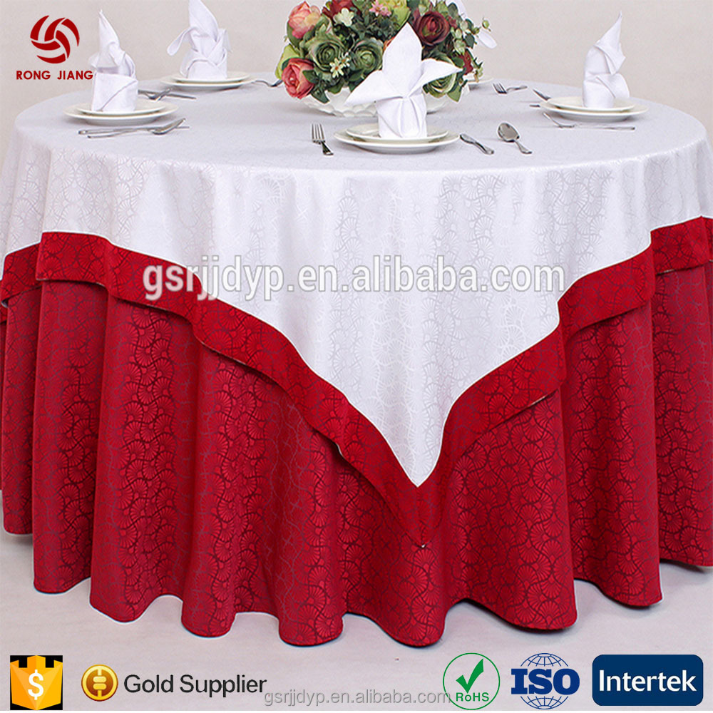Hotel use western imported tablecloths