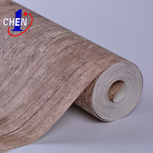 Wood Grain PVC self adhesive morden 3D vinyl PVC wallpaper for indoor home