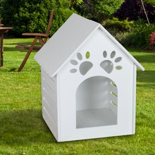 Large Plastic Dog Kennel Pet Outdoor Indoor Garden Dog House