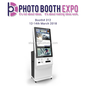 Used Photo Kiosk Digital Printer With Mobile Phone Charger Cable