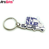 Artigfits wholesale cheap metal truck keychain