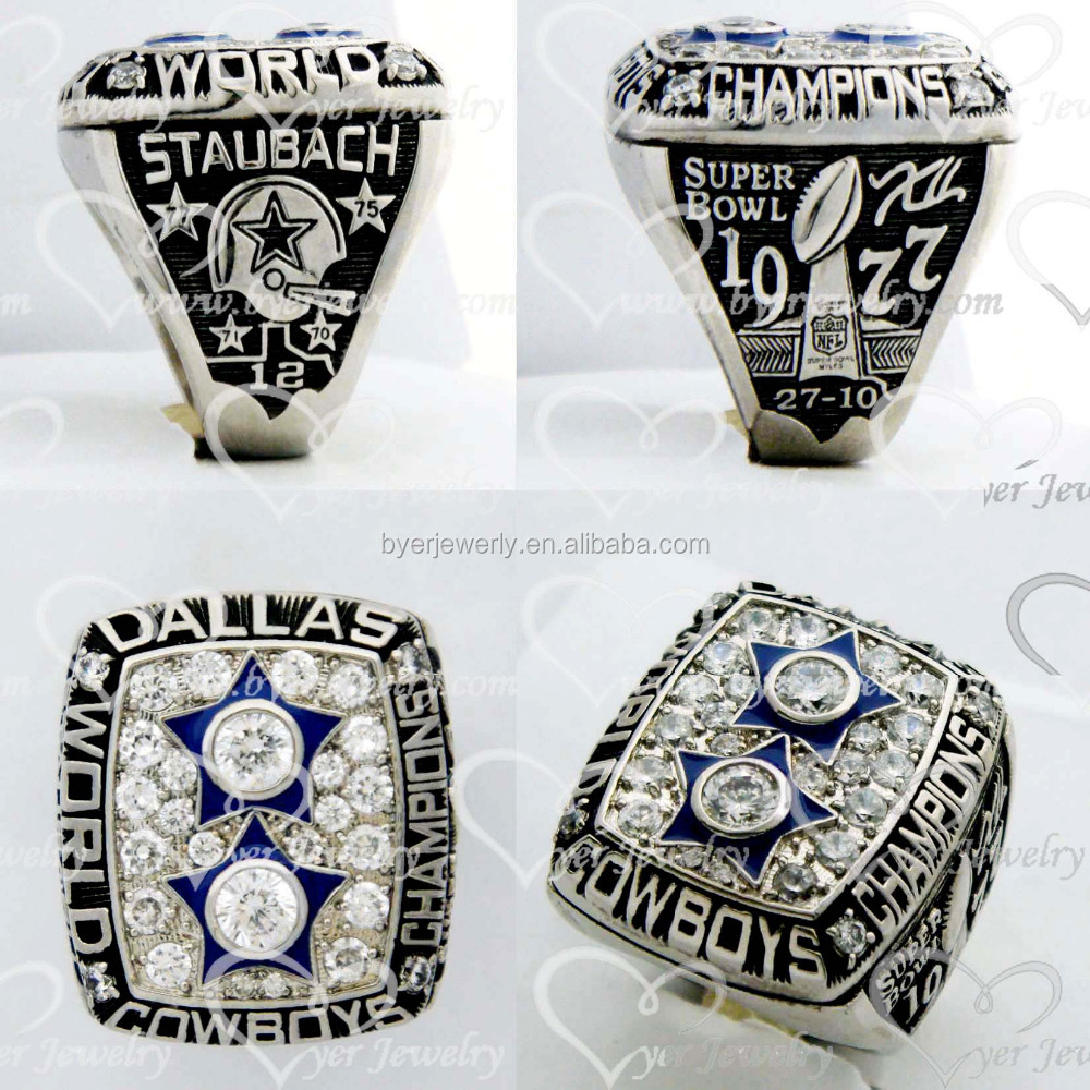 nfl wholesale champions replica super bowl rings dallas cowboys