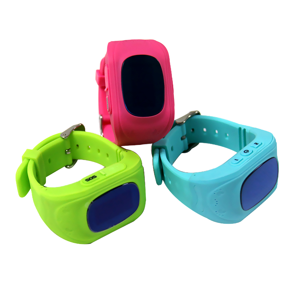 Kids smart watch with touch screen gps navigation