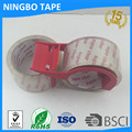 crystal super clear packing tape parcel tape with dispenser bopp tape