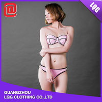 Fashion handmade pink sexy usa sex women bikini