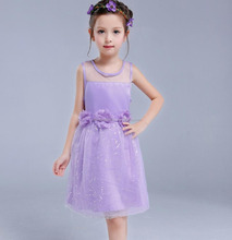 Latest Design One Piece Girls Party Dresses New Style Baby Girl Dress