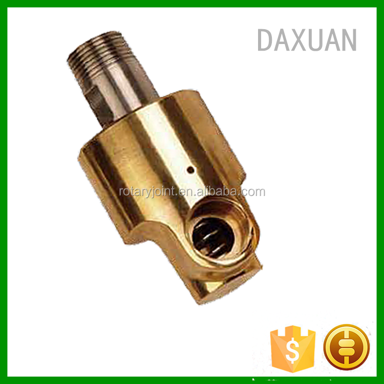 25A Copper Brass Copper Water Pipe Fitting Adjustable Swivel Joint, Water Rotary Joint Rotary Union