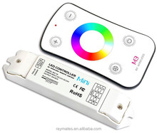 mini Led RGB TOUCHING controller with rf remote-control