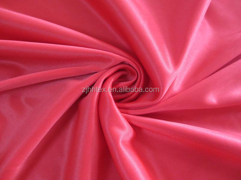 100% Polyester high air permeability clothing fabric for sportwear
