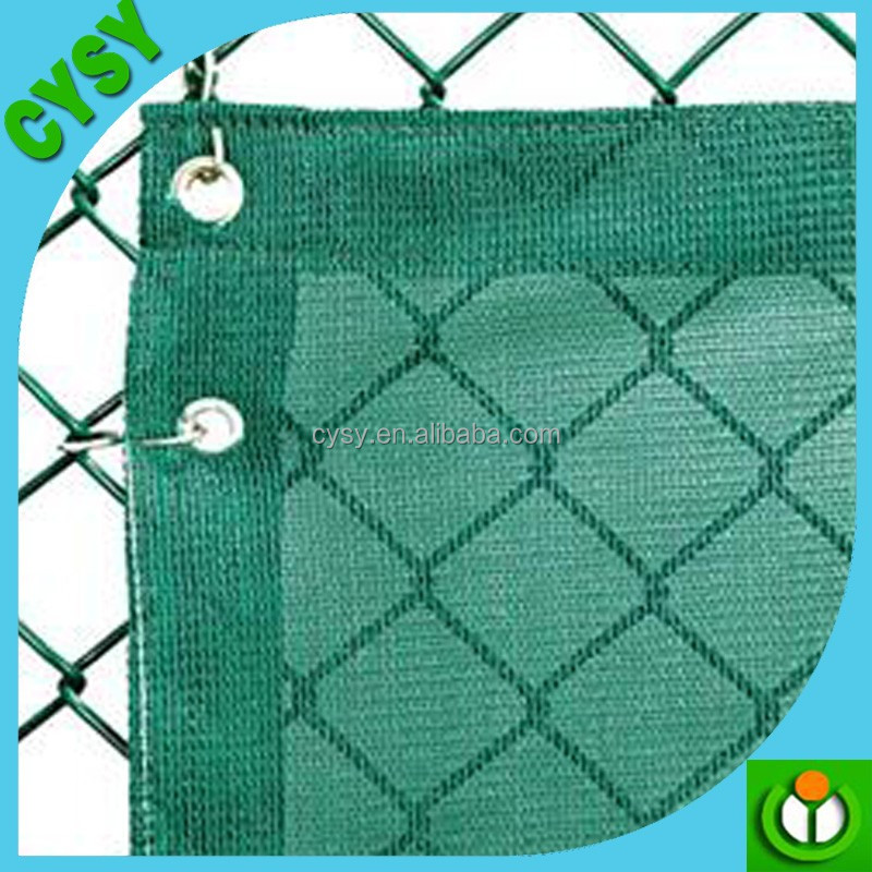 Outdoor 100% virgin HDPE Tennis Court Windscreen/Privacy Screen
