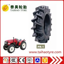 TAOHAI brand Factory price gricultural tyre paddy field tyre tractor tires112x24 with PR-1 pattern