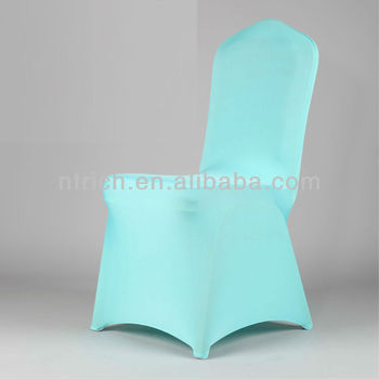 chair cover spandex fabric,Lycra/Spandex chair cover with sash for wedding and banquet
