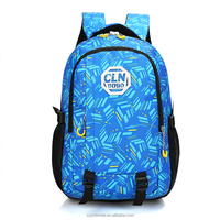 Camouflage fabrics sport daily usage leisure backpack kids school bag