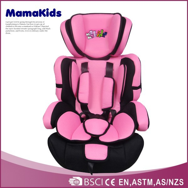 Comfortable and portable safety car baby seat adjustable kids replacement car seats