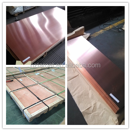 High Purity C10200 Copper Sheet Thickness 3MM