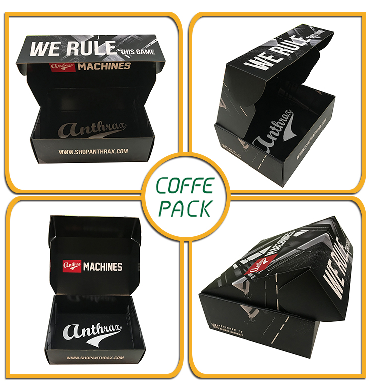 OEM Custom Double-side Full Printed Packaging Box For Brand Shoes