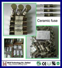 PCB fuse supplier,Fast acting/ Slow blow 5.2x20mm ceramic fuse 2A 250V/125V