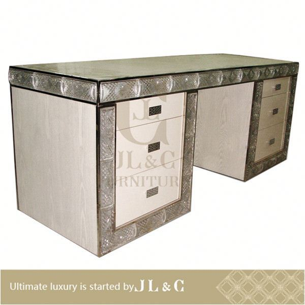 JT14-07 2013 elegant aluminium desktop notebook desk from JL&C luxury home furniture lastest designs 2014 (China supplier)