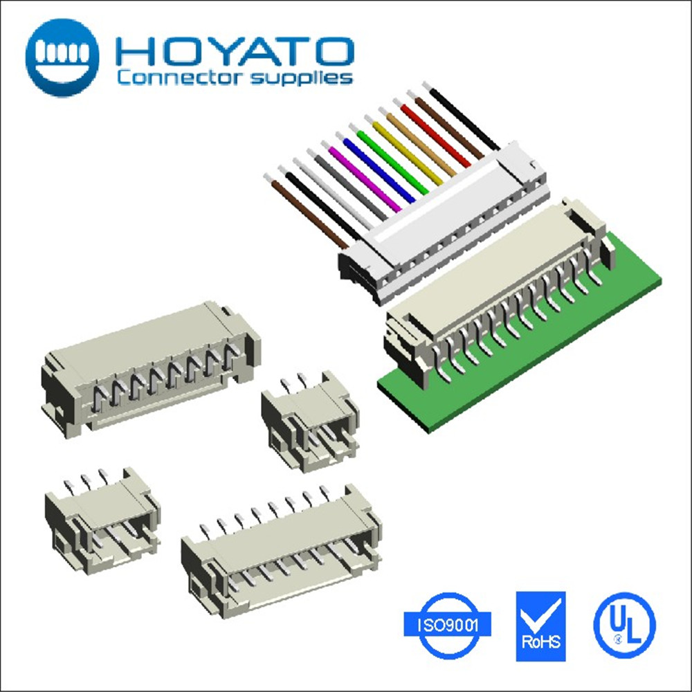 single 2.0mm 7 pin 7pin smt wire to board connector 90 degree wafer