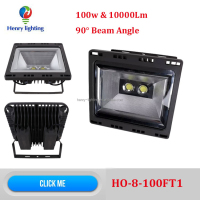 90 degree 100w LED Flood Light, Alibaba express 100w LED reflector, 100w LED Working Light