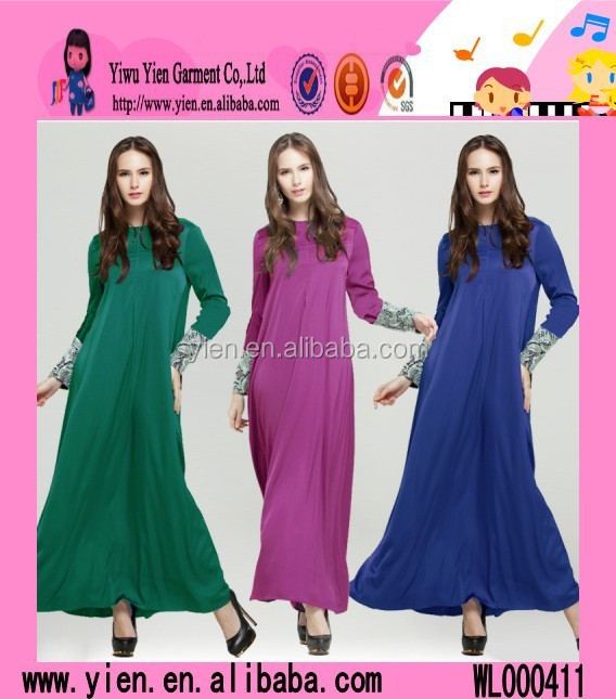 Excellent Muslim Long Dress Chiffon Summer Women Muslim Long Dress Chiffon