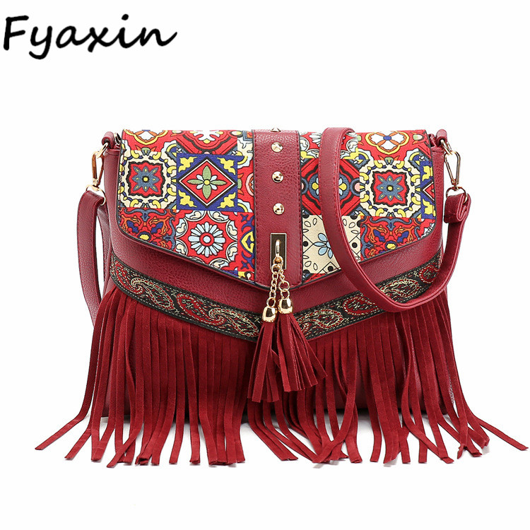 Vintage Shoulder Bag Style Bohemian Ethnic Women Shoulder Bag Hippie India Bag Wholesale