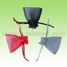 Promotional Small Sheer Drawstring Gift Organza Pouch
