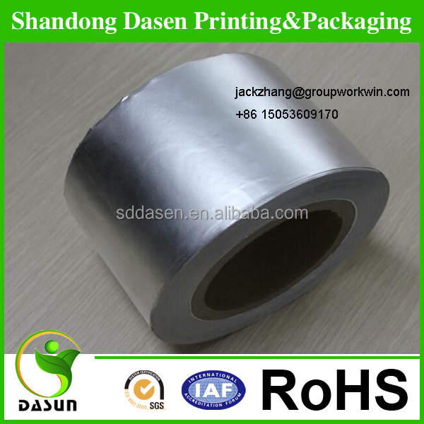 Silver Aluminium Foil Paper For cigar Packing