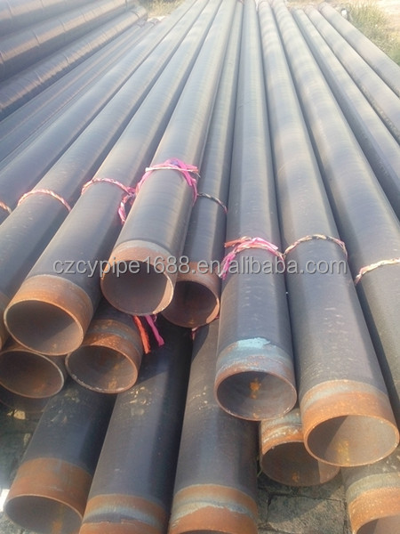 3lpe coating pipe / 3pe insulation anticorrosion steel pipe manufacturer