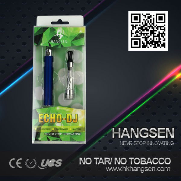 Hangsen elegant smoking vaporizer cigarette - Echo-DJ kits with ce5 atomizer and ego battery