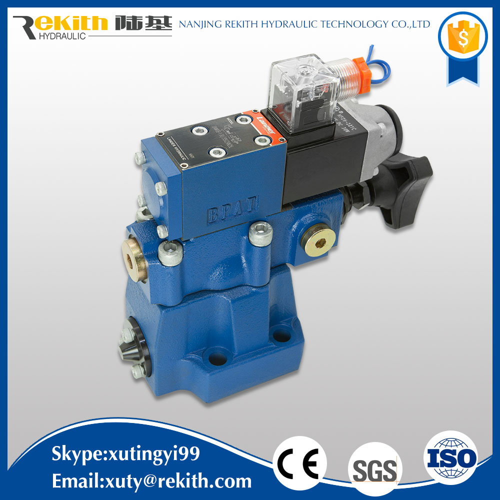DA10/DAW10 proportional safety hydraulic check solenoid valve