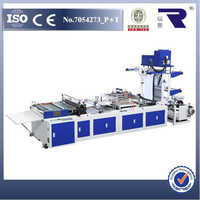 good quality RFKD-800 plastic dhl express courier bag making machine