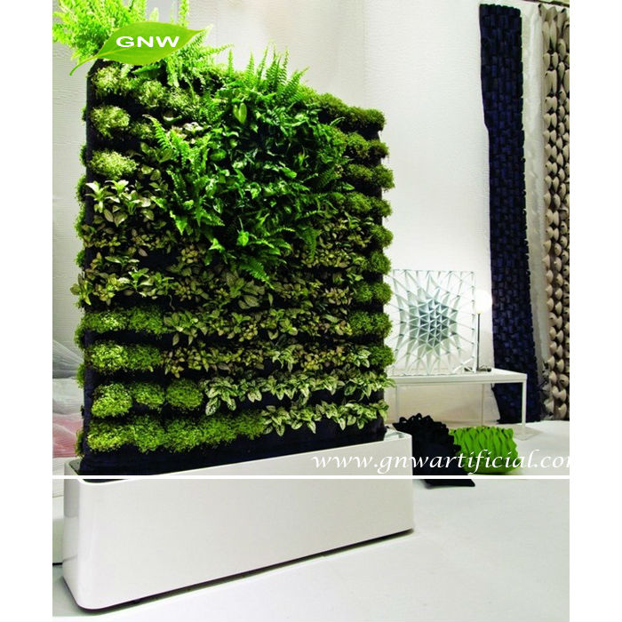GNW GLW069 Green Wall Module Samll Piece Artificial Plants for garden landscaping