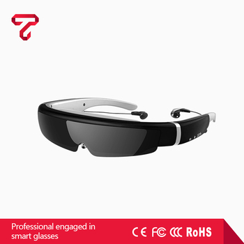 2017 Professional HD Digital 98 inch virtual display video glasses 3d glasses