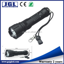 rechargeable nylon materials flash light hunting lights with scope