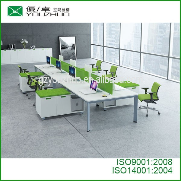 youzhuo modern office meeting table MFC , office table specifications modern office table photos,whitegate workbench