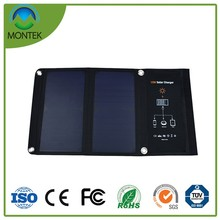 15W Folding Solar Panel for 5V Mobile Devices