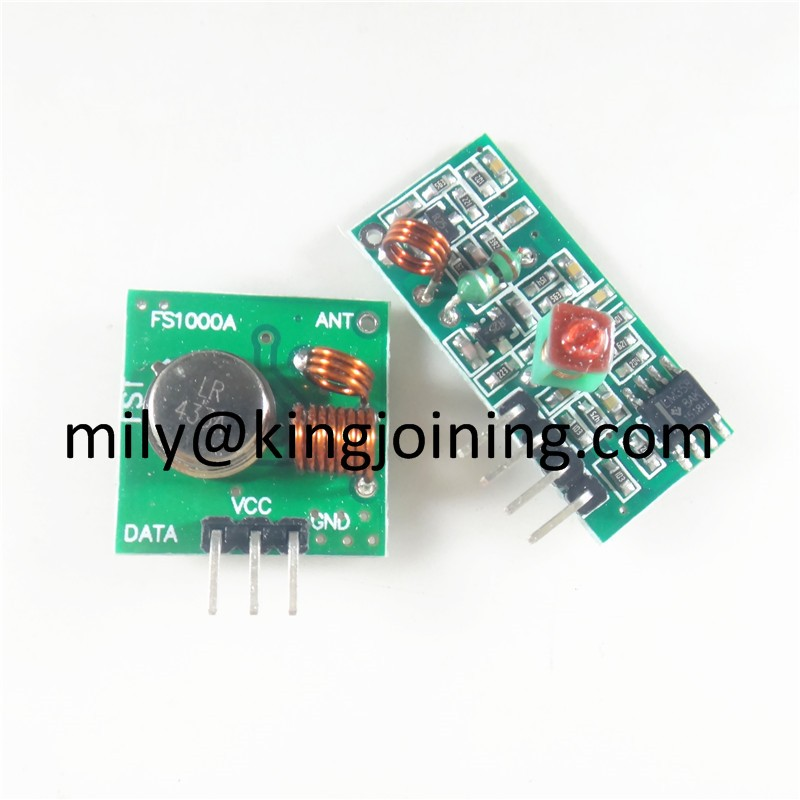 Low price KJ108 433M RF Wireless Receiver Transmitter modules