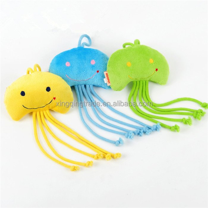 Pet Dog Jellyfish Plush Toy Cat Puppy Chew Funny Style Interactive Pet Products