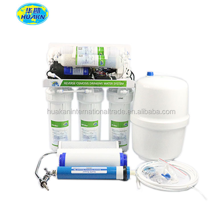 home use under sink 6 stage alkaline reverse osmosis home water filter