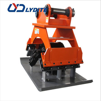 excavator soil compactor supplier BEIYI made hydraulic compactor and vibrating compactor for sale