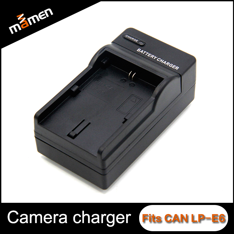 Power Storage Digital Camera Battery Charger Easy Carry Quick Battery Charger Replace LP-E6 For Canon Photographic Equipment