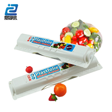 pe Food Wrap Cling Film Plastic Wrap PE Preservative Film with slider Cutter