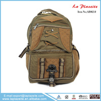 2d 3d cartoon canvas satchel backpack bag, heavy canvas tote bag, vintage canvas bag