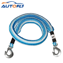 Hot sale emergency car tool 2T elastic stretch tow rope