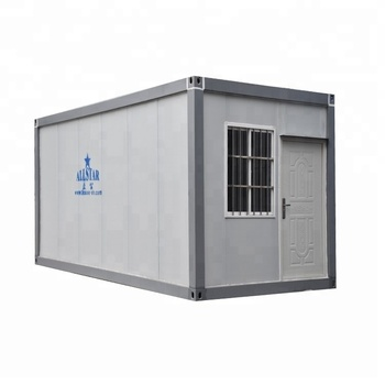 China prefab cheap portable flat pack container house